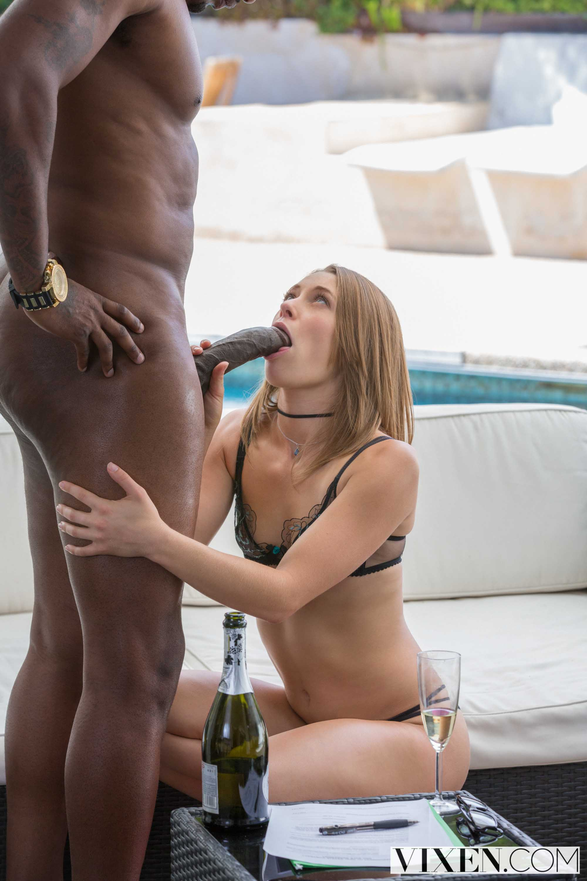 After a glass of wine horny hana takes on a g 10